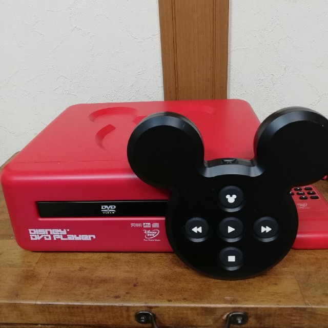 Disney(ディズニー)のレア/廃盤★ディズニーDVDプレーヤー★ スマホ/家電/カメラのテレビ/映像機器(DVDプレーヤー)の商品写真