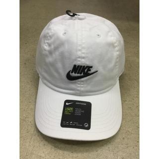 ナイキ(NIKE)のナイキ キッズキャップ 白生地 新品 未使用 送料込み 子供サイズ(帽子)