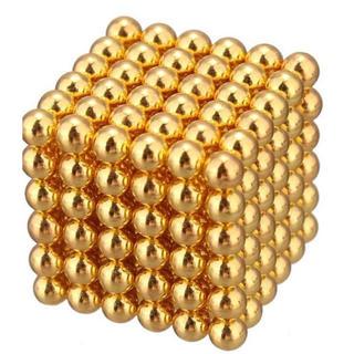 マグネット ボール ゴールド 3mm 216個(その他)