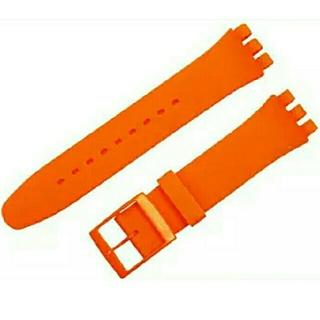 スウォッチ(swatch)のスウォッチ用シリコン交換ベルト 20mm(ラバーベルト)