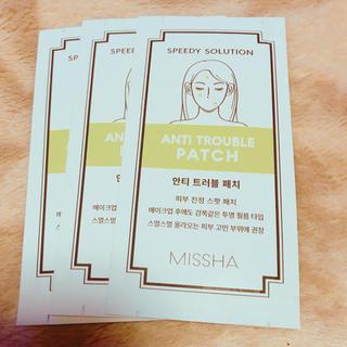 ミシャ(MISSHA)のミシャ ニキビパッチ 3個(その他)