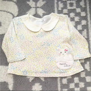 クーラクール(coeur a coeur)のクーラクール 70cm 女の子用長袖トップス(Tシャツ)