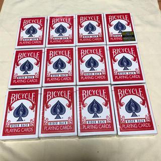 【未開封品】バイシクル トランプ 赤12個、青12個のセット(トランプ/UNO)