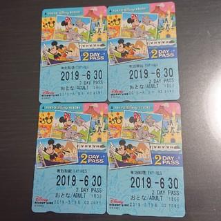 ディズニー(Disney)のディズニーリゾートライン フリーきっぷ(鉄道乗車券)