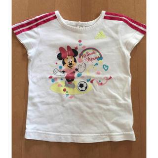 アディダス(adidas)のアディダス ミニーコラボ Tシャツ 80 ディズニーTシャツ(Tシャツ)