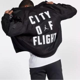 ナイキ(NIKE)のAIR JORDAN CITY OF FLIGHT JACKET MA-1 (フライトジャケット)