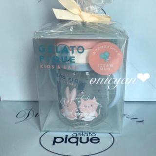 ジェラートピケ(gelato pique)の🎁プレゼント包装🌸 baby ストローマグ🌸 ♡ジェラートピケ ♡ 食器(マグカップ)