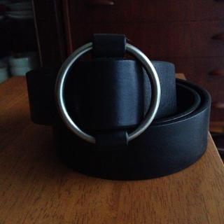 ムジルシリョウヒン(MUJI (無印良品))の黒ベルト(ベルト)