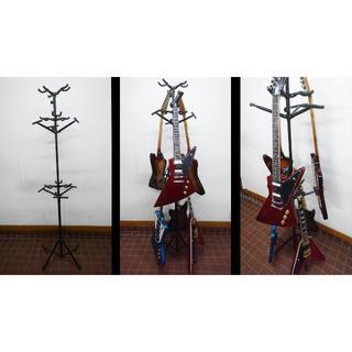 ギター・ベース・ウクレレスタンド ツリー式9本掛けタイプ(その他)