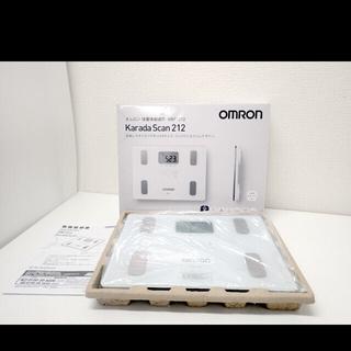 オムロン(OMRON)の【新品】オムロン体重計 新品(体重計)