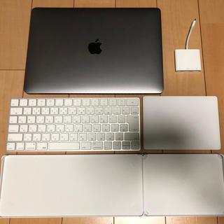 アップル(Apple)のmacbook pro13 2017Ultimateモデル+純正アクセサリー(ノートPC)