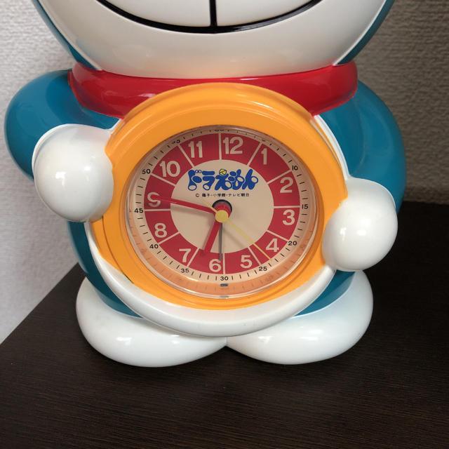 ドラえもん 目覚まし 時計 インテリア/住まい/日用品のインテリア小物(置時計)の商品写真