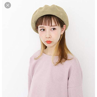 ケービーエフ(KBF)の◆nao様専用◆KBFベレー帽(春夏)(ハンチング/ベレー帽)