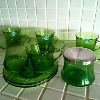 デュラレックス(DURALEX)の* DURALEX *   ティー&コーヒーカップ(グラス/カップ)