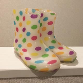 専用☆新品♪長靴 レインブーツ 18㎝(長靴/レインシューズ)