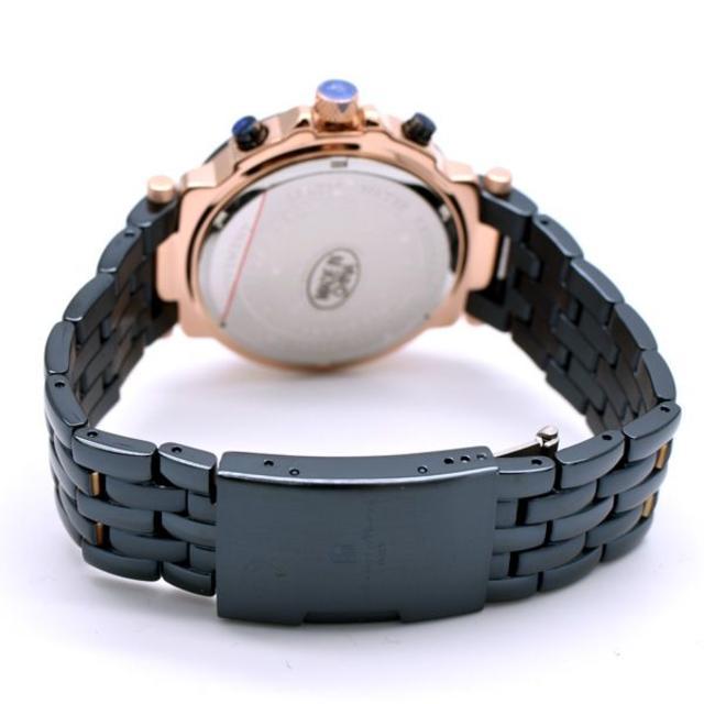 Salvatore Marra(サルバトーレマーラ)のサルバトーレマーラ 腕時計 メンズ ダーク ネイビー ブランド 時計 メンズの時計(腕時計(アナログ))の商品写真