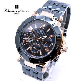 サルバトーレマーラ(Salvatore Marra)のサルバトーレマーラ 腕時計 メンズ ダーク ネイビー ブランド 時計(腕時計(アナログ))