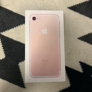 アイフォーン(iPhone)の新品未使用  iPhone7  32GB simフリ- 3台(スマートフォン本体)