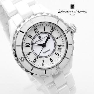 Salvatore Marra - サルバトーレマーラ 腕時計 メンズ ブランド 時計 ホワイト 白