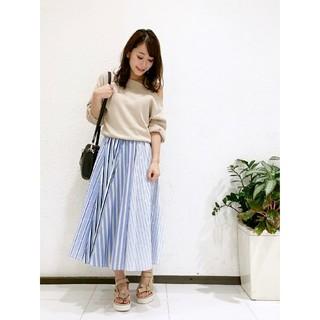 アンドクチュール(And Couture)の☆And Couture☆カラーストライプロングスカート☆(ロングスカート)