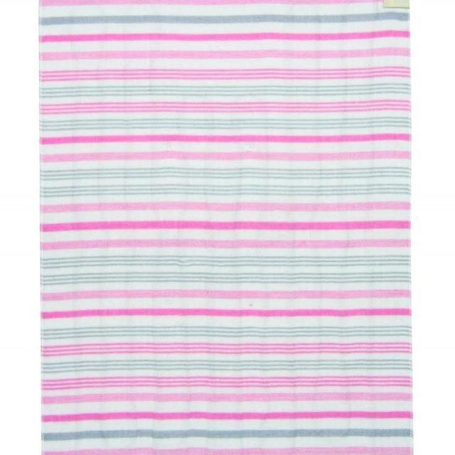 【格安】 洗える 電気しき毛布 (80×140cm) ピンク インテリア/住まい/日用品のラグ/カーペット/マット(ホットカーペット)の商品写真