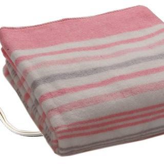 【格安】 洗える 電気しき毛布 (80×140cm) ピンク