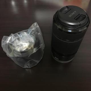ソニー(SONY)の【ほぼ新品】E 55-210mm F4.5-6.3 OSS(レンズ(ズーム))