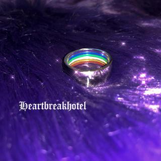♱ Vintage Silver rainbow ring(リング(指輪))