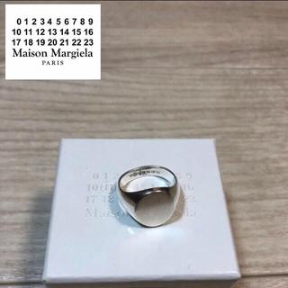 マルタンマルジェラ(Maison Martin Margiela)のマカロニちゃん様専用 M メゾンマルジェラ オーバル型 シグネットリング 925(リング(指輪))