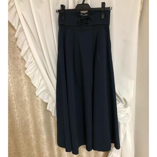 アンドクチュール(And Couture)のAndCouture 編み上げロングスカート アンドクチュール(ロングスカート)