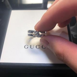 グッチ(Gucci)のGUCCI リング ノットリング(リング(指輪))