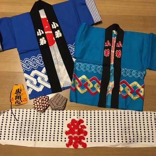 小若 法被 お祭り 2枚セット(甚平/浴衣)