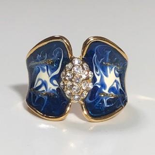 AAA級 ダイヤモンドcz 19号 リング 指輪 ゴールド(リング(指輪))