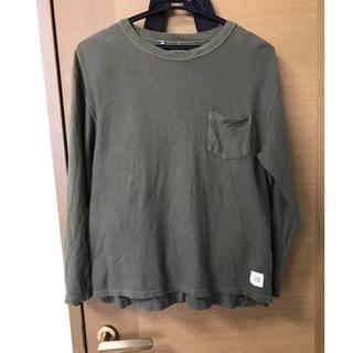 デラックス(DELUXE)のデラックス トップス カーキ(Tシャツ/カットソー(七分/長袖))