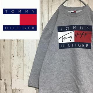 トミーヒルフィガー(TOMMY HILFIGER)の【トミーヒルフィガー】【XL】【旧タグ】【アメリカ製】【スウェット】(スウェット)