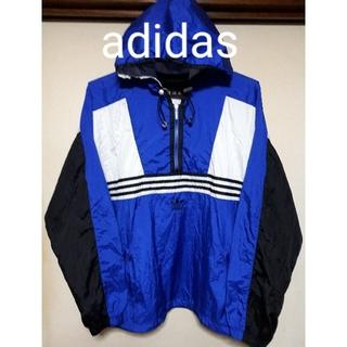 アディダス(adidas)の《adidas》アディダス:90s アノラック/ナイロンパーカー/ヴィンテージ(ナイロンジャケット)
