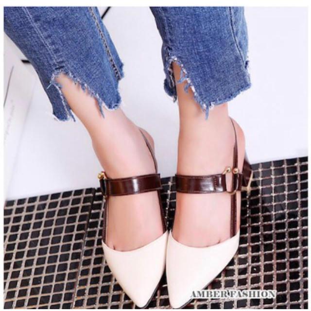ZARA(ザラ)の❤デザインヒールサンダル❤ レディースの靴/シューズ(ハイヒール/パンプス)の商品写真