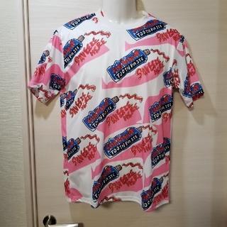エーシーディーシーラグ(ACDC RAG)のACDCRAG ど派手 歯磨き粉 総柄Tシャツ 原宿系(Tシャツ(半袖/袖なし))