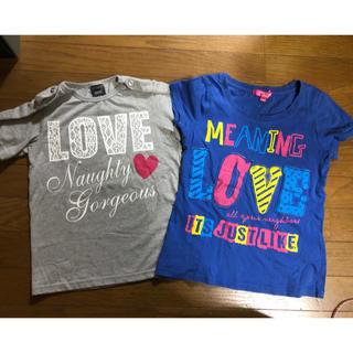 シスキー(ShISKY)の半袖Tシャツ 140㌢ 2枚set(Tシャツ/カットソー)