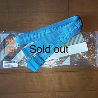 オフホワイト(OFF-WHITE)のOff-White Light Blue belt Mykonos (ベルト)