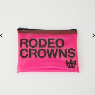 ロデオクラウンズワイドボウル(RODEO CROWNS WIDE BOWL)のロデオクラウン  クリアケース(ポーチ)