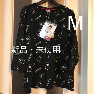 シマムラ(しまむら)の【新品】銀魂 しまむら コラボ ロンT Tシャツ シャツ M レディース(キャラクターグッズ)