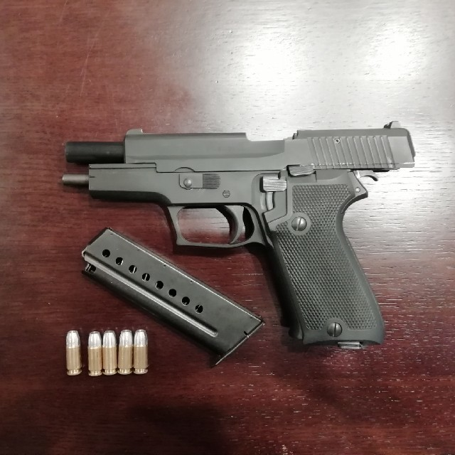 SIG P220 HW 陸上自衛隊 正式拳銃 モデルガン エンタメ/ホビーのミリタリー(モデルガン)の商品写真