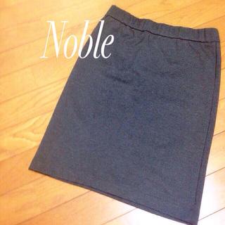 ノーブル(Noble)のタイトスカートbyスピックアンドスパン(ひざ丈スカート)