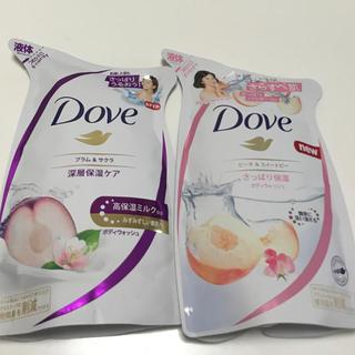 ユニリーバ(Unilever)のDOVE ダヴ ボディウォッシュ ボディソープ 詰め替え(ボディソープ/石鹸)