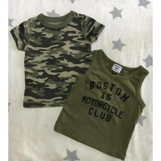 マーキーズ(MARKEY'S)のベビー☆Tシャツ 80 2枚組(Tシャツ)