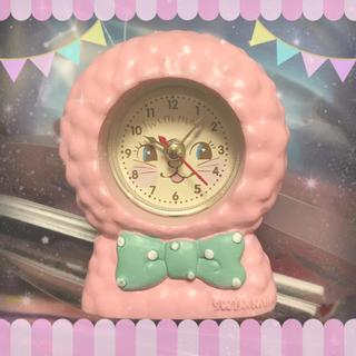 スイマー(SWIMMER)の🐰″ SWIMMER💓うさぎ時計 🐰″(置時計)