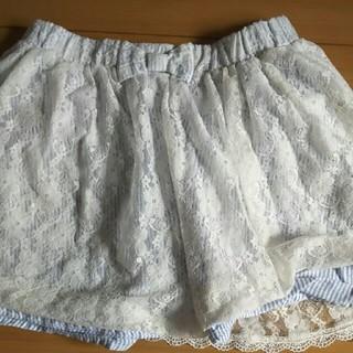 ジーユー(GU)のGU レーススカート(スカート)