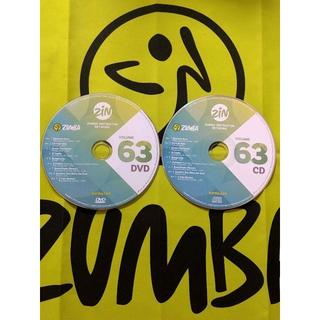 Zumba - ZUMBA ズンバ ZIN63 CD&DVD インストラクター専用