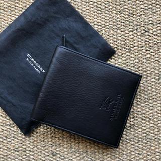バーバリーブラックレーベル(BURBERRY BLACK LABEL)のみずき様専用☆新品未使用☆BURBERRY BLACK   LABEL(折り財布)